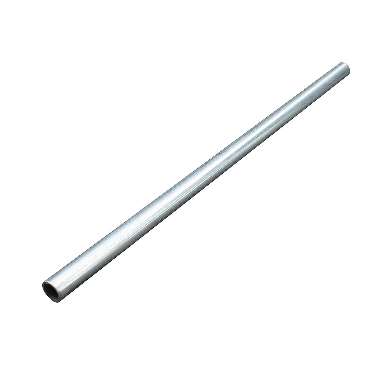 Achsrohr aus galvanisch verzinktem Stahl 12x1,5x500 mm Achse Achsbau