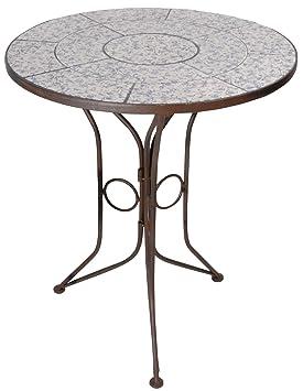 Table De Jardin Fer.Esschert Design Table De Jardin Fer Forge Et Ceramique