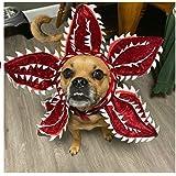 Dogs Demogorgon Cosplay Costume Pets Cats Puppy Stranger TV Halloween Dress Up Decoration Headgear Neck Headband Party Props