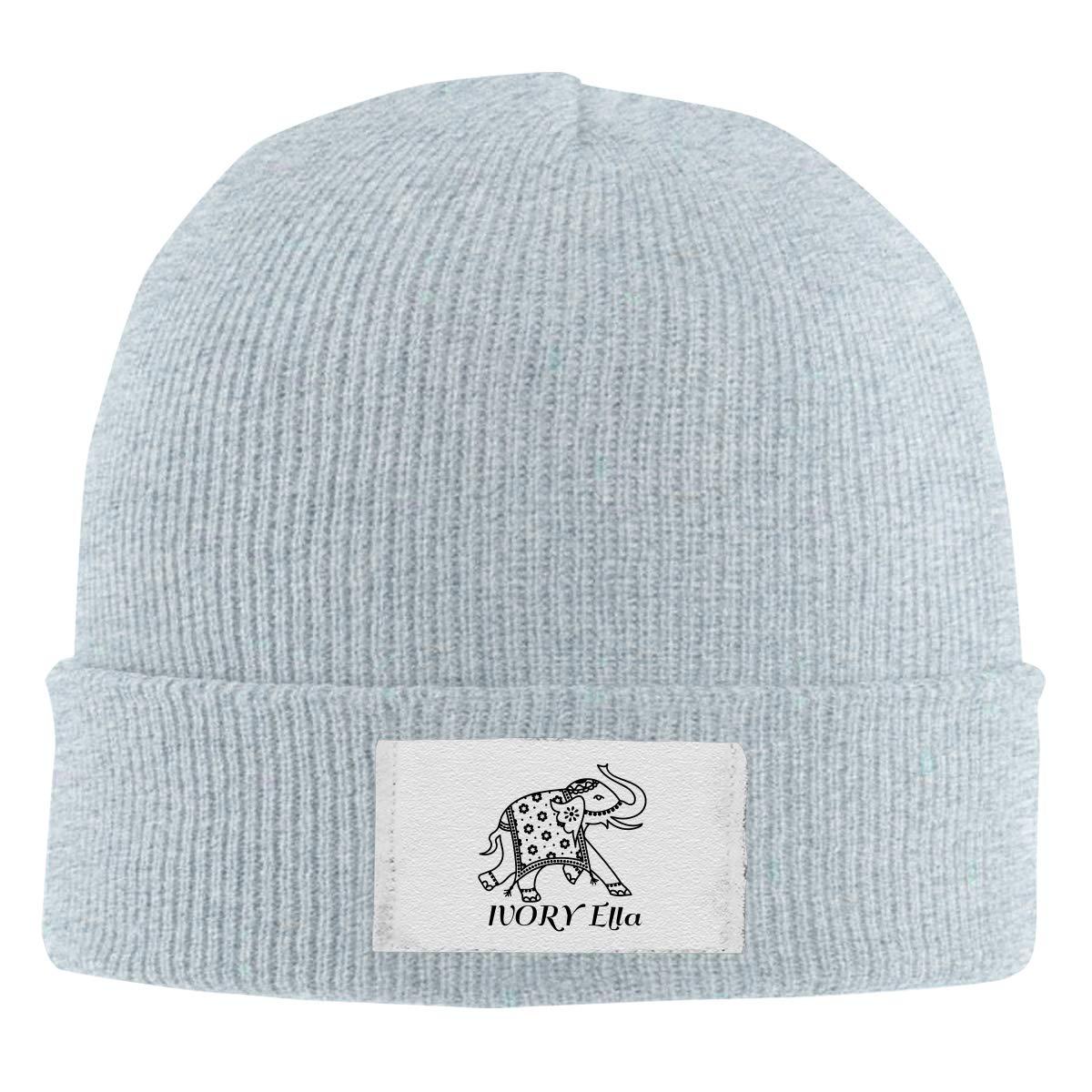 Skull Caps Cycling Shark Winter Warm Knit Hats Stretchy Cuff Beanie Hat Black