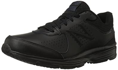 best loved ba13b 12ce4 New Balance Men s MW411v2 Walking Shoe, Black, ...