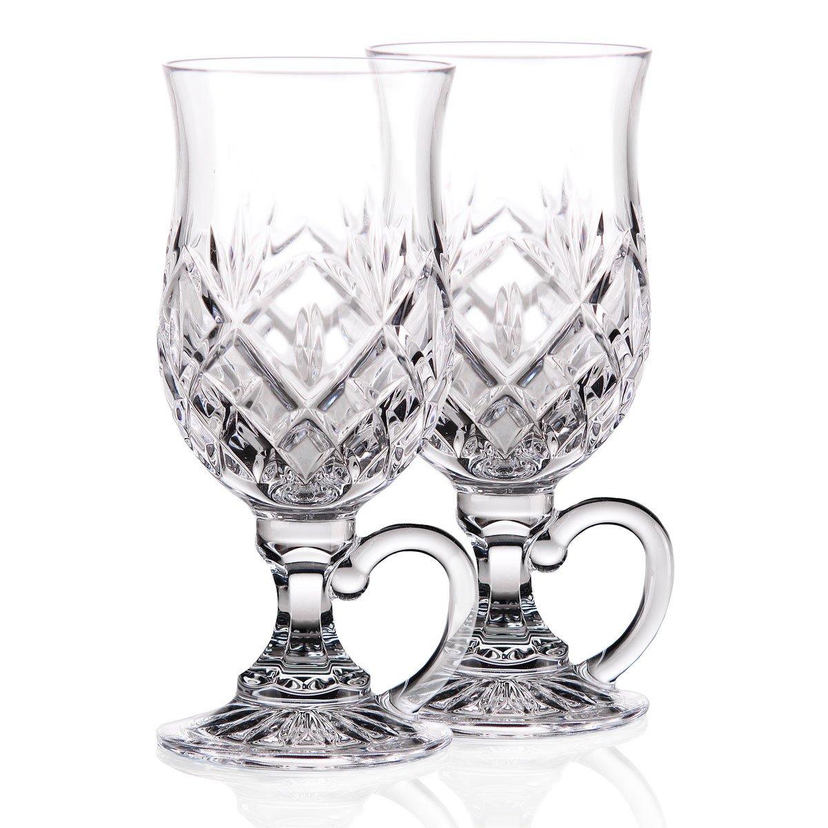 Waterford Crystal, Huntley Irish Coffee Glasses, Pair by Waterford