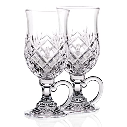 1513ffc088f Waterford Crystal, Huntley Irish Coffee Glasses, Pair
