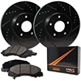 [Front] Rotors w/Ceramic Pads Elite Brakes (01-05 Sebring 08-12 Caliber)