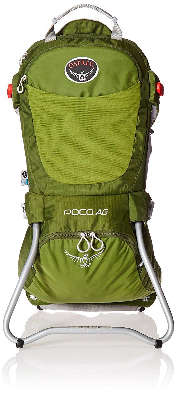 Osprey Packs Poco AG Child Carrier Ivy Green [並行輸入品] B071XS1HRM