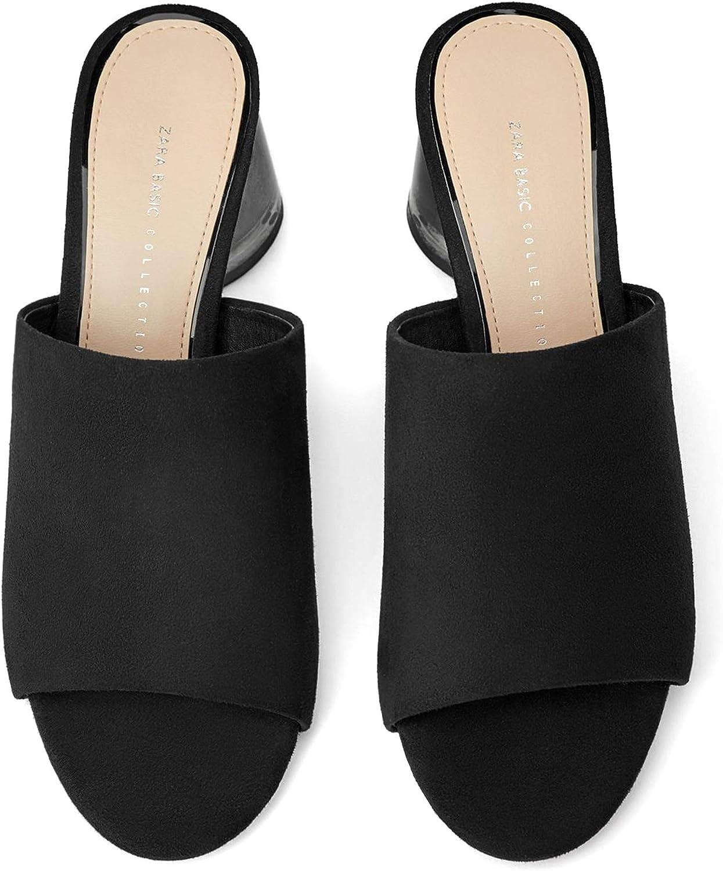 Zara 2310/001 - Zapatos de tacón para mujer con tacón de ...