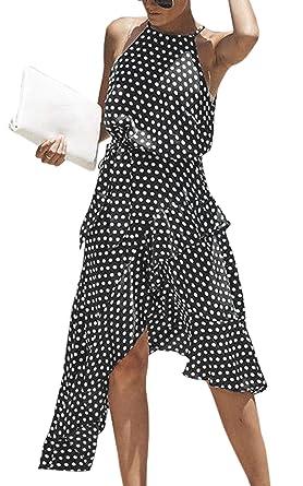 Ruffles Asymmetrical Dress