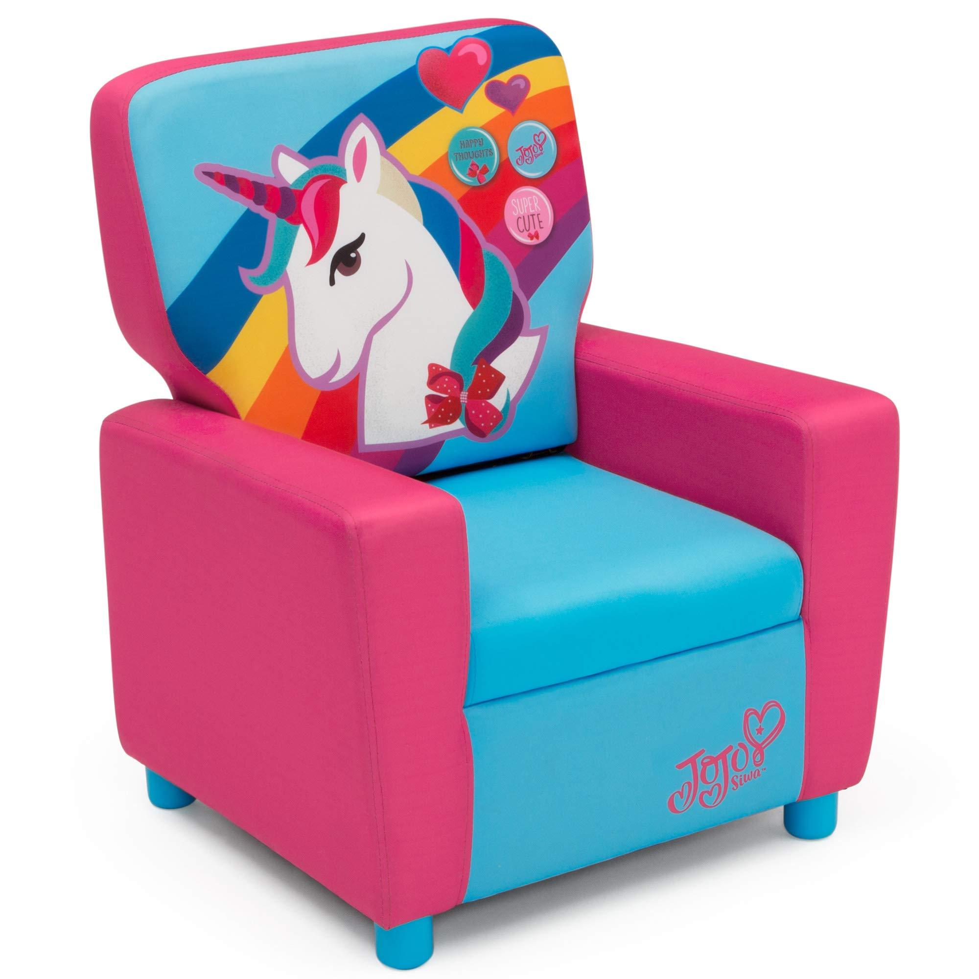 Delta Children High Back Upholstered Chair, JoJo Siwa by Delta Children