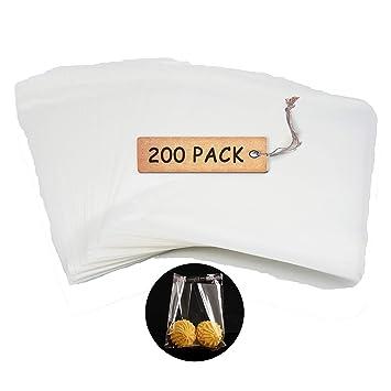 Amazon.com: SCHOLMART - Bolsas adhesivas de plástico OPP ...
