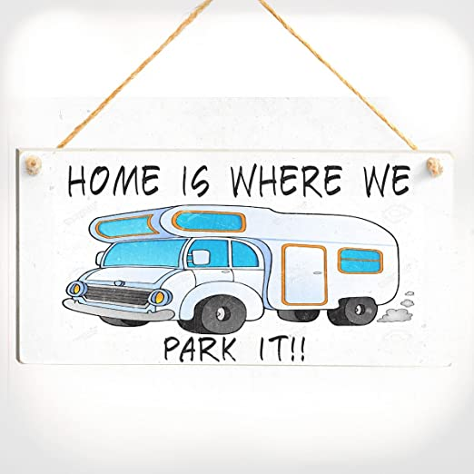 Home Is where we Park It. - Camper Van caravanette cartel de ...