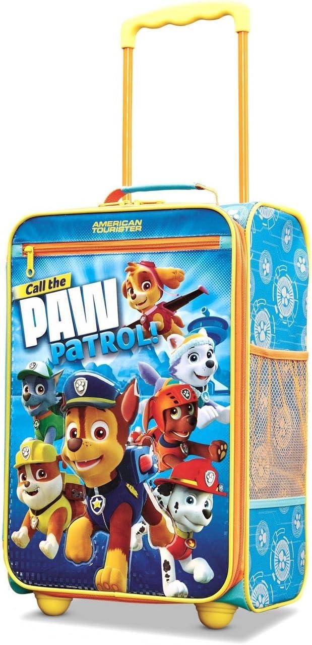 Nickelodeon PAW Patrol Kids Hard-Sided Luggage 18 Inch Blue