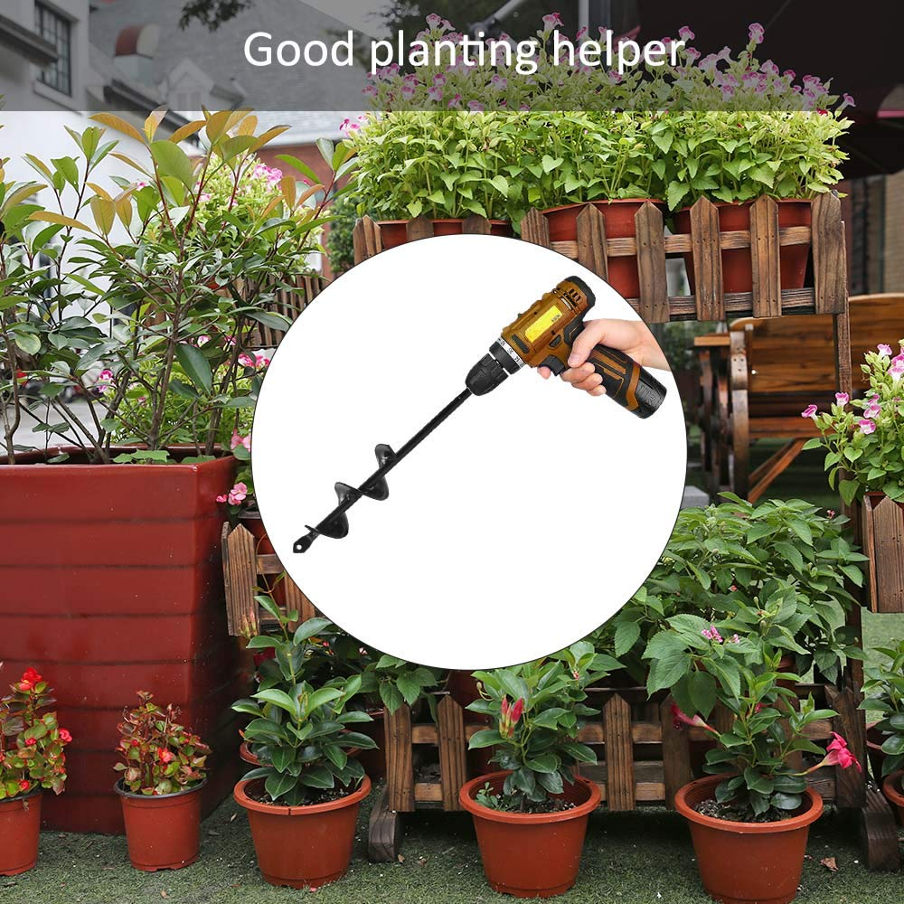 ONEVER Erdbohrer-Loch-Bagger bearbeitet Pflanzmaschine-Bohrer-Zaun-Bohrer-Benzin-Pfosten-Loch-Bagger-Garten-Werkzeug