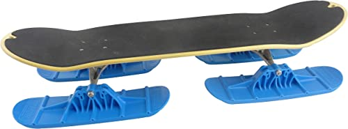 Railz Pro-66 Quad Ski Kit Designed Patended in The USA, for All Ages. Convert Your Street Skateboard to a Snow Skateboard SnowSkate