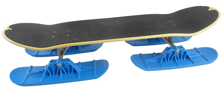 Railz Next-Gen Pro-66 Quad Ski Kit, for Skateboards, Convert Your Street Skateboard to a Snow Skateboard SnowSkate
