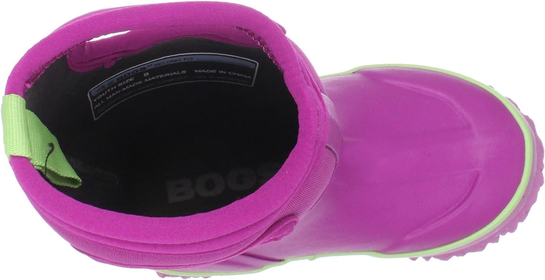 BOGS Kids Classic High Waterproof Insulated Rubber Neoprene Rain Boot