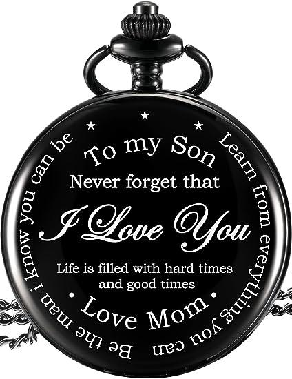 Montre De Poche Pour Mon Fils Cadeaux Cadeaux De Maman à