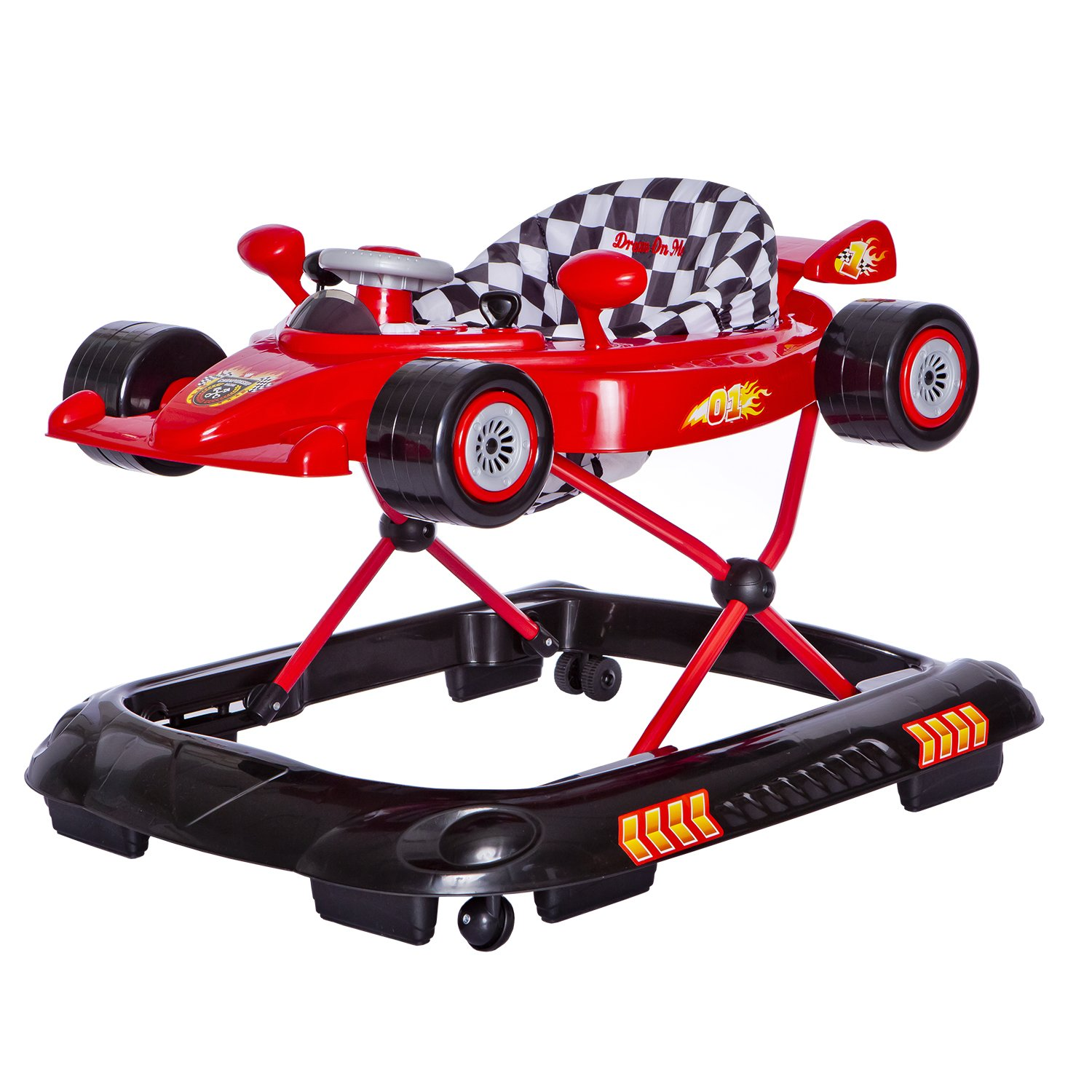 Amazon.com : Dream On Me Victory Lane Activity Walker, Red : Baby