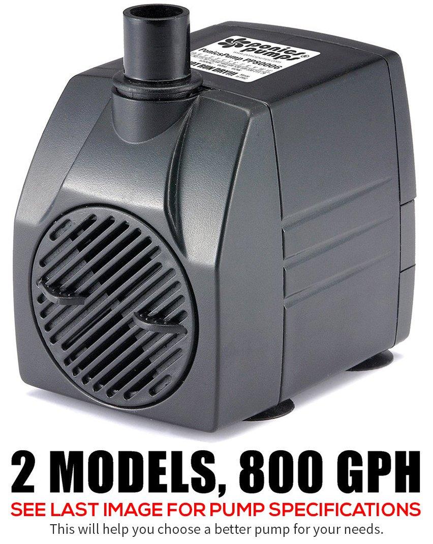 Amazoncom  PonicsPump PP  GPH Submersible Pump With - Amazon pond pumps