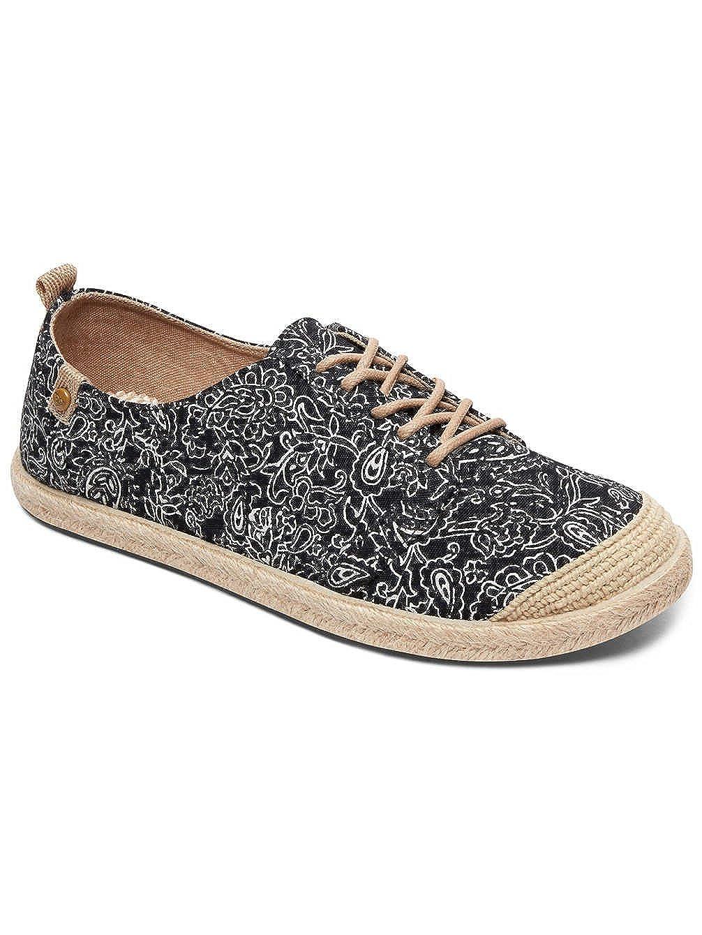 roxy Flora Lace Up - Shoes - Zapatillas - Mujer - EU 39 - Negro: Amazon.es: Zapatos y complementos