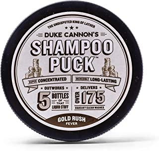 product image for Duke Cannon Supply Co. Mens Shampoo Puck, 4.5 oz. - Gold Rush Fever/Over 175 Washes/Sulfate-Free