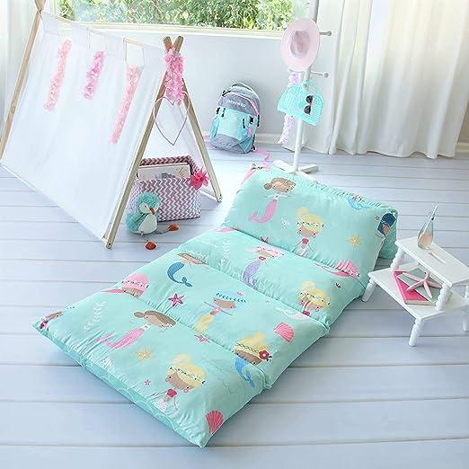 EXTRA LONG Nap Mat College Study Bed Polka dot Pillow Bed Pillow Mattress Children/'s Pillow Bed Sleepover Bed