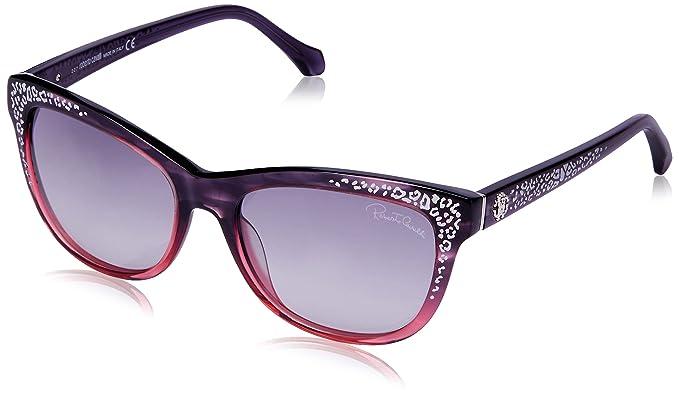 Amazon.com: Roberto Cavalli RC991S/S 83B TSZE Purple/Rose ...