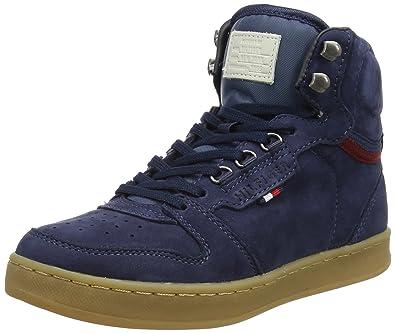 best cheap 8d534 e8668 Tommy Hilfiger Unisex-Kinder H3285OXTON JR 4N Sneaker, Blau ...