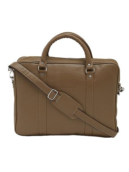 Mboss 15.6 inch 7 Ltrs Beige Laptop Messenger Bag  PFB_008_Beige