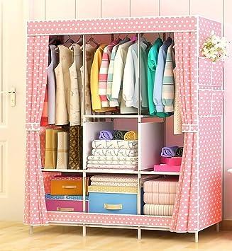 Amazon De N B Kinder Kommode Tragbare Schrank Kleiderschrank Kinder