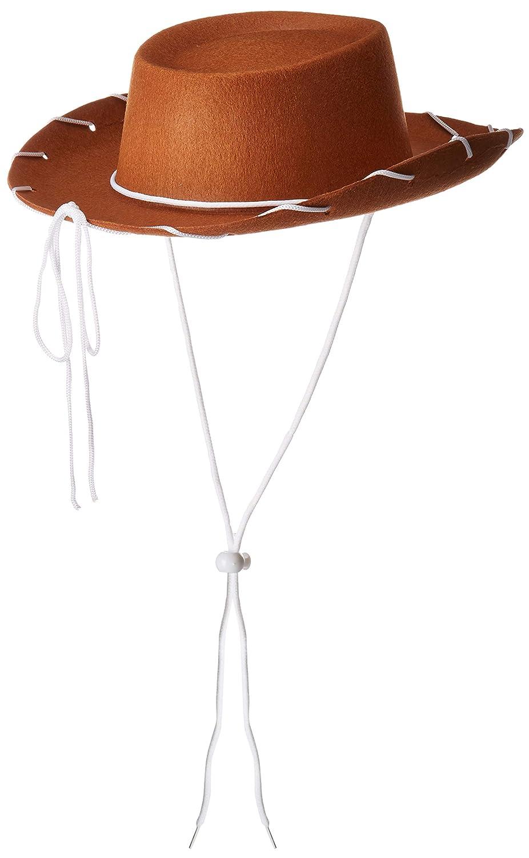 Koolstuffs Children/'s Cowboy Brown Hat Costume Woody Style