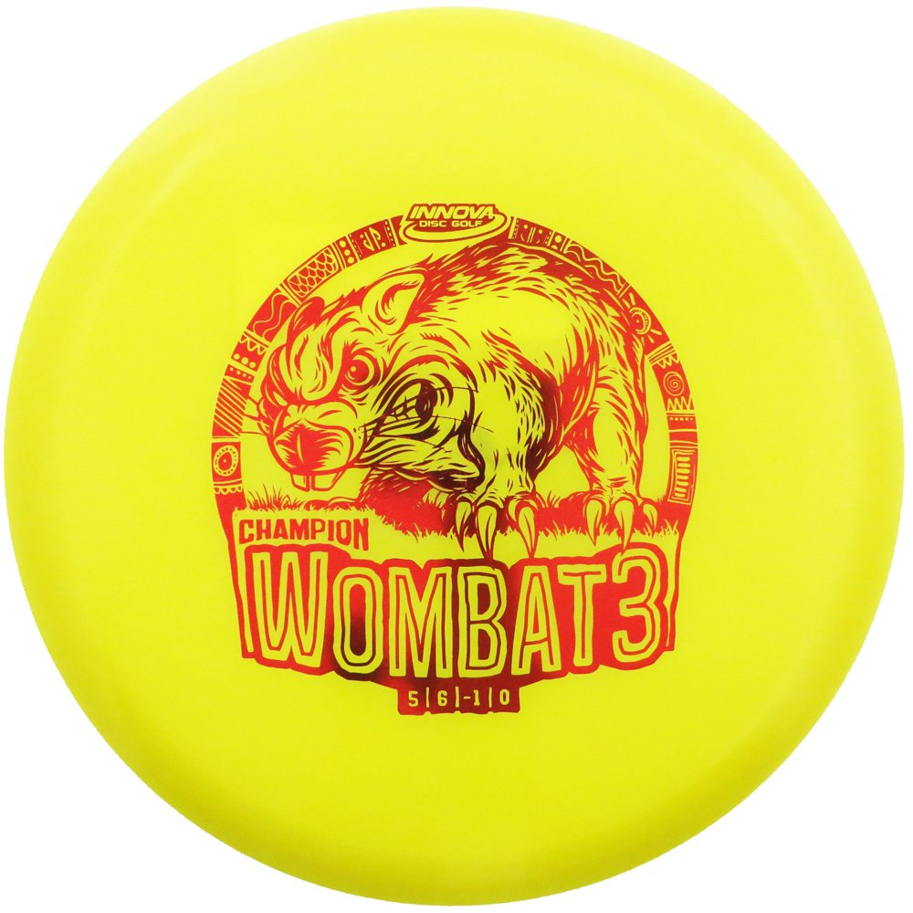 Innova Colors Special Edition Champion wombat3ミッドレンジGolf Disc [ Vary Colors May May Vary ] B07DKGN2JZ 175-177g, ウエノハラマチ:52a4132f --- lembahbougenville.com
