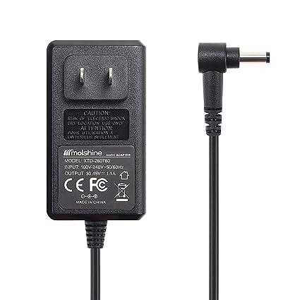 Molshine Compatible 30.45V 1.1A Dyson V10 Charger Adapter for Dyson Cyclone V10 V11 Absolute,Dyson Cyclone V10 Animal, Dyson Cyclone V10,Dyson ...