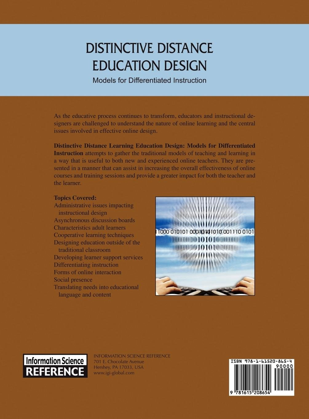 Distinctive Distance Education Design: Models for Differentiated Instruction
