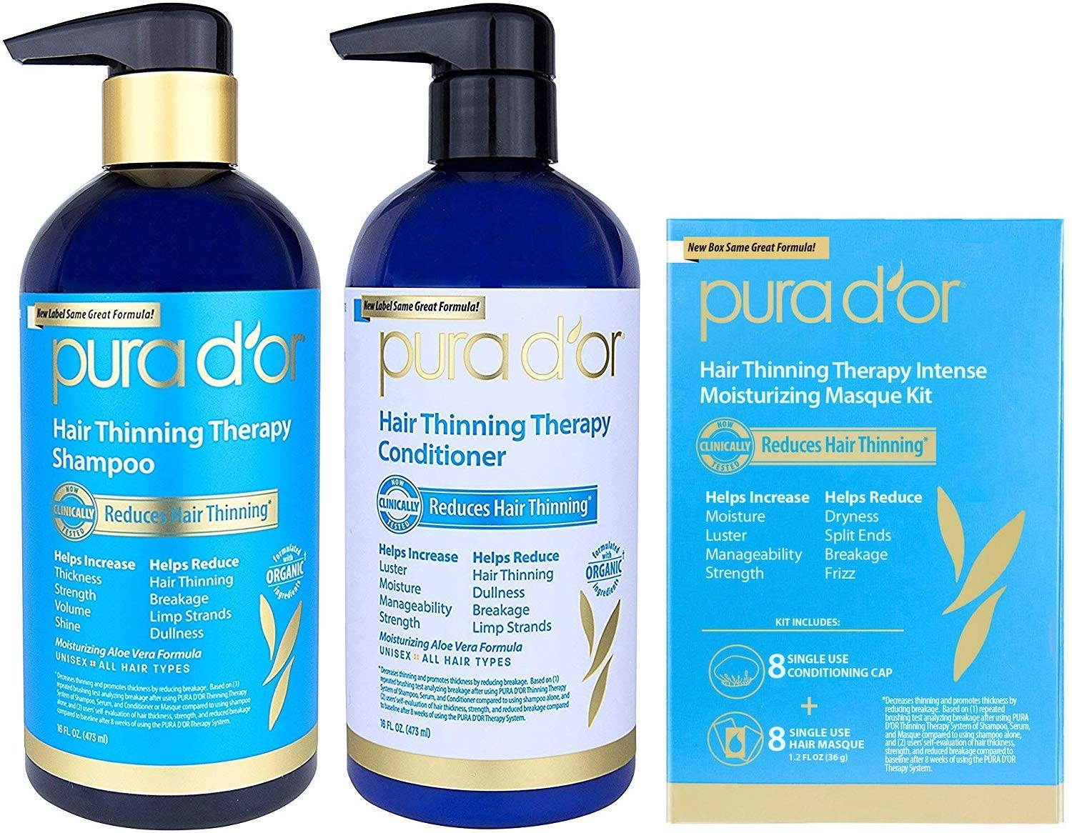 Pura Dor Hair Thinning Therapy Shampoo Vanilla Amoreskin Forfifying Lavender For Prevention Infused With Argan Oil Biotin Natural Ingredients