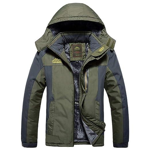 Thick Velvet Down & Parka Coat 6XL 7XL 8XL 9XL Winter Jacket Men Waterproof Windproof Chaquetas