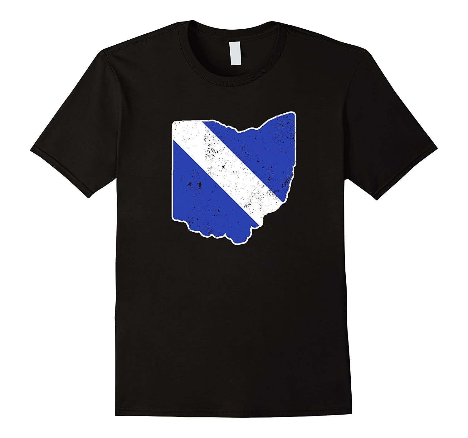 Ohio EMT Paramedic Thin White Line Flag Shirt-TD