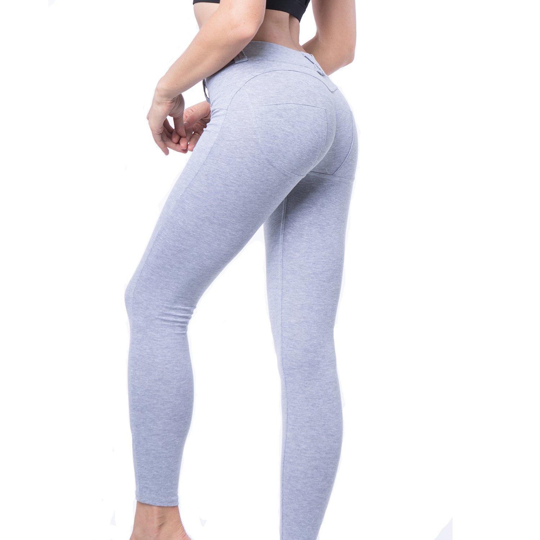 b61772f730ec6c Sexy Women's Butt Lift Yoga Pants Hip Push Up Leggings Workout Capris:  Amazon.ca: Clothing & Accessories