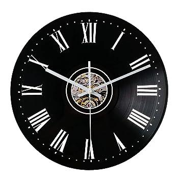 Zhiyi Reloj de Pared, Moderno (Números Romanos), 30 x 30 x 3