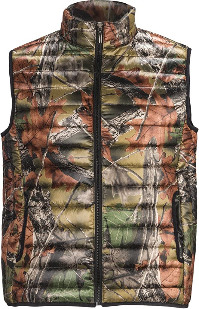 TrailCrest Mens Ultra-Thermic Silk Padded Quilted Vest