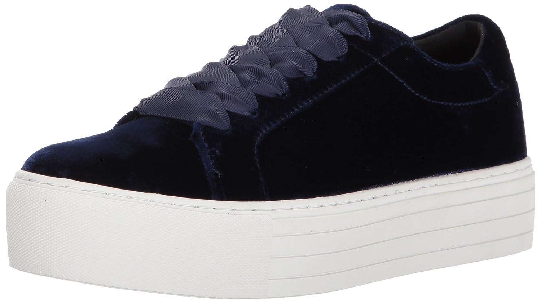 Kenneth Cole New York Women's Abbey Platform Lace up Velvet Fashion Sneaker B06ZYM5K62 8 B(M) US Navy