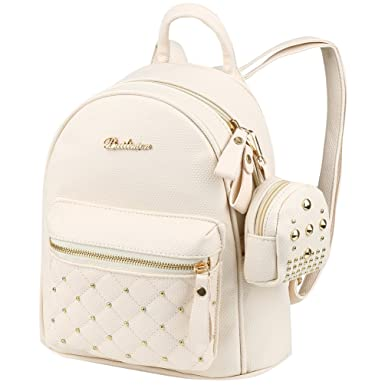 6dd122517c VBG VBIGER PU Leather Mini Backpack Purse Fashion Travel Backpack for Women  Girl