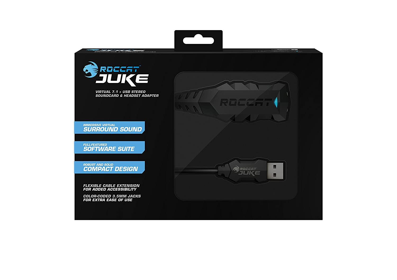 ROCCAT Juke 7.1 7.1 Canales USB 7.1 Canales, USB Tarjeta de Sonido