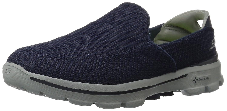 Skechers Go Walk 3, Zapatillas para Hombre 44.5 EU|Azul (Nvgy)
