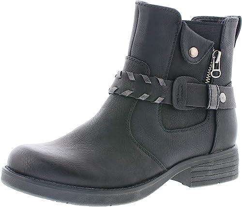 Rieker Damen Stiefeletten 91258, Frauen Biker Boots: Amazon D80HO