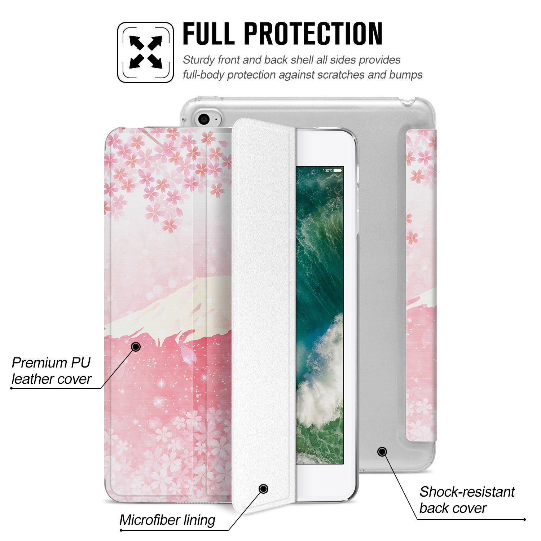 Auto Sue/ño//Estela Lightweight Funci/ón de Soporte Protectora Plegable Smart Cover Trasera Transparente Durable Ayotu Funda para iPad Mini 3//2//1 para Apple iPad Mini 3//2//1-The Outer Space