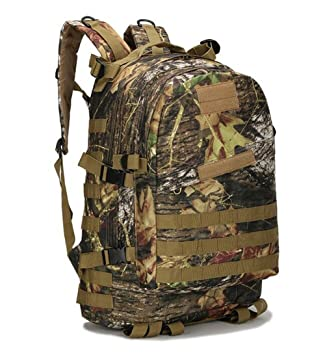 Impermeable 3d Militar mochila táctica mochila bolsa camuflaje deportes viajar senderismo mochila 40L, fengye micai: Amazon.es: Deportes y aire libre