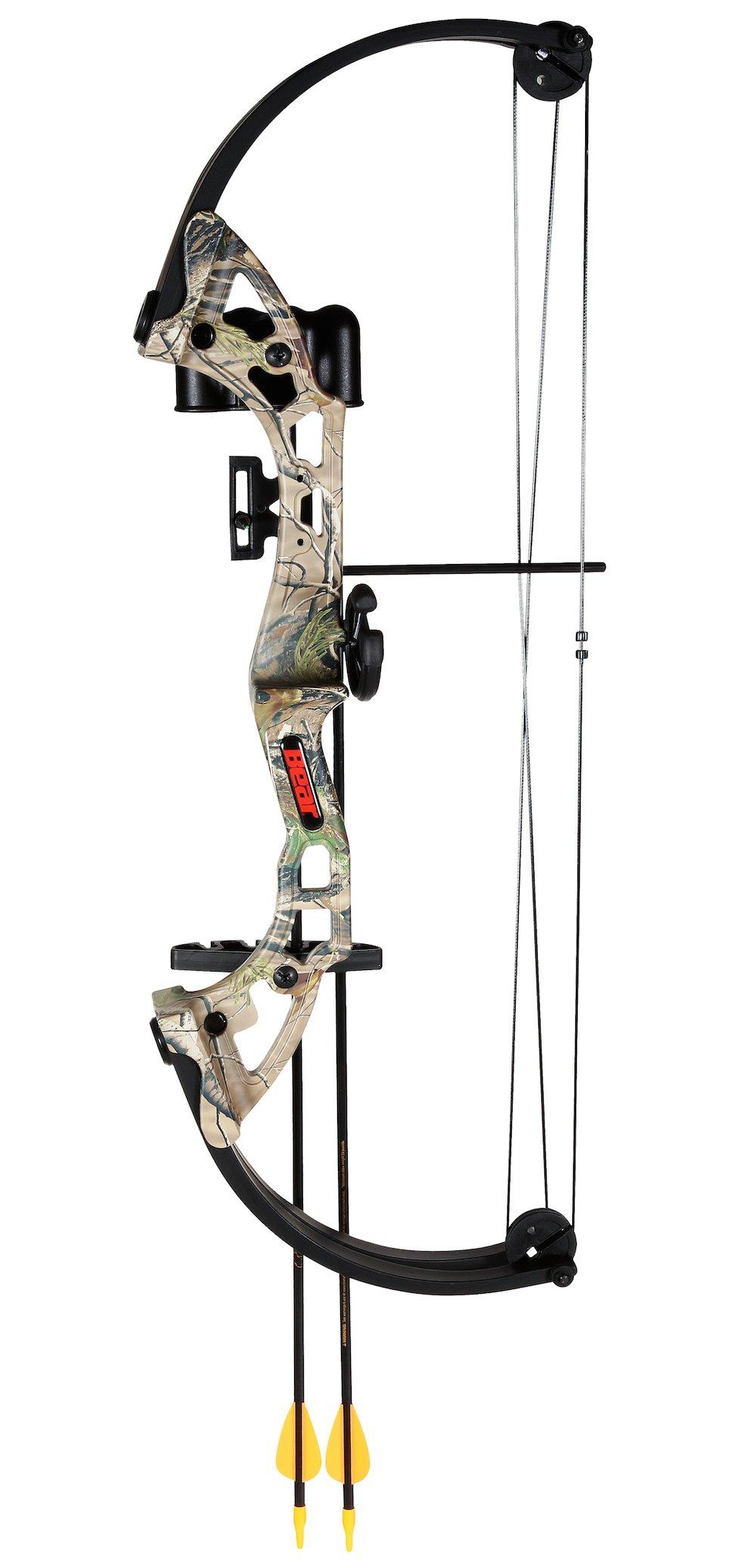 Bear Archery Brave camo w/ biscuit RH BAAYS300CR
