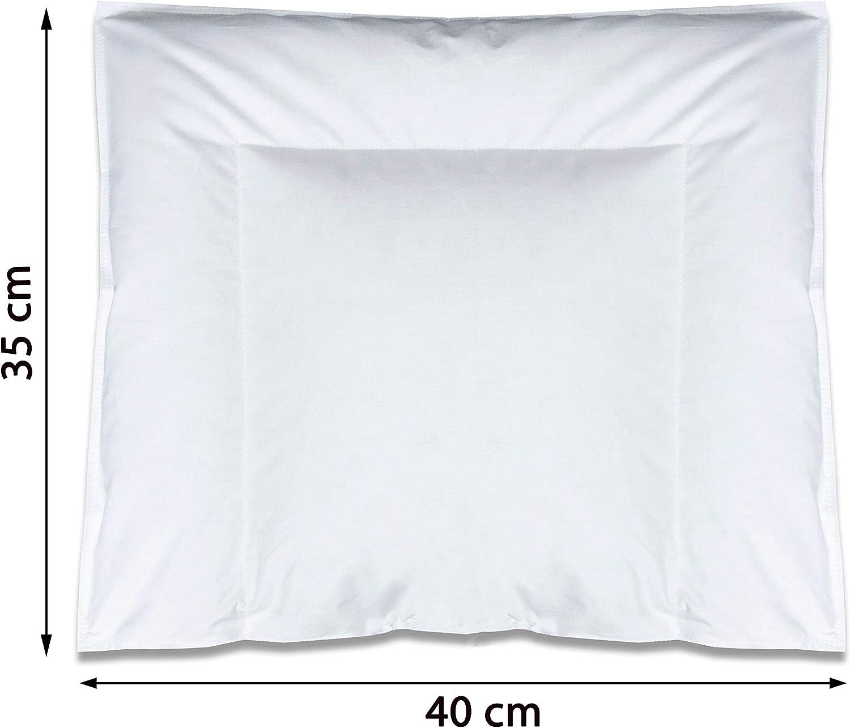 Zollner Coussin en b/éb/és 90/% duvet 10/% plumes autres disponibles 35x40 cm