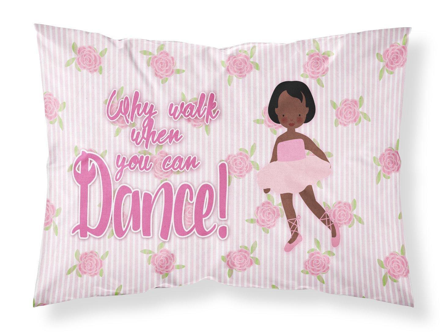 Carolines Treasures Dancing is My Passion Pillowcase Standard Multicolor