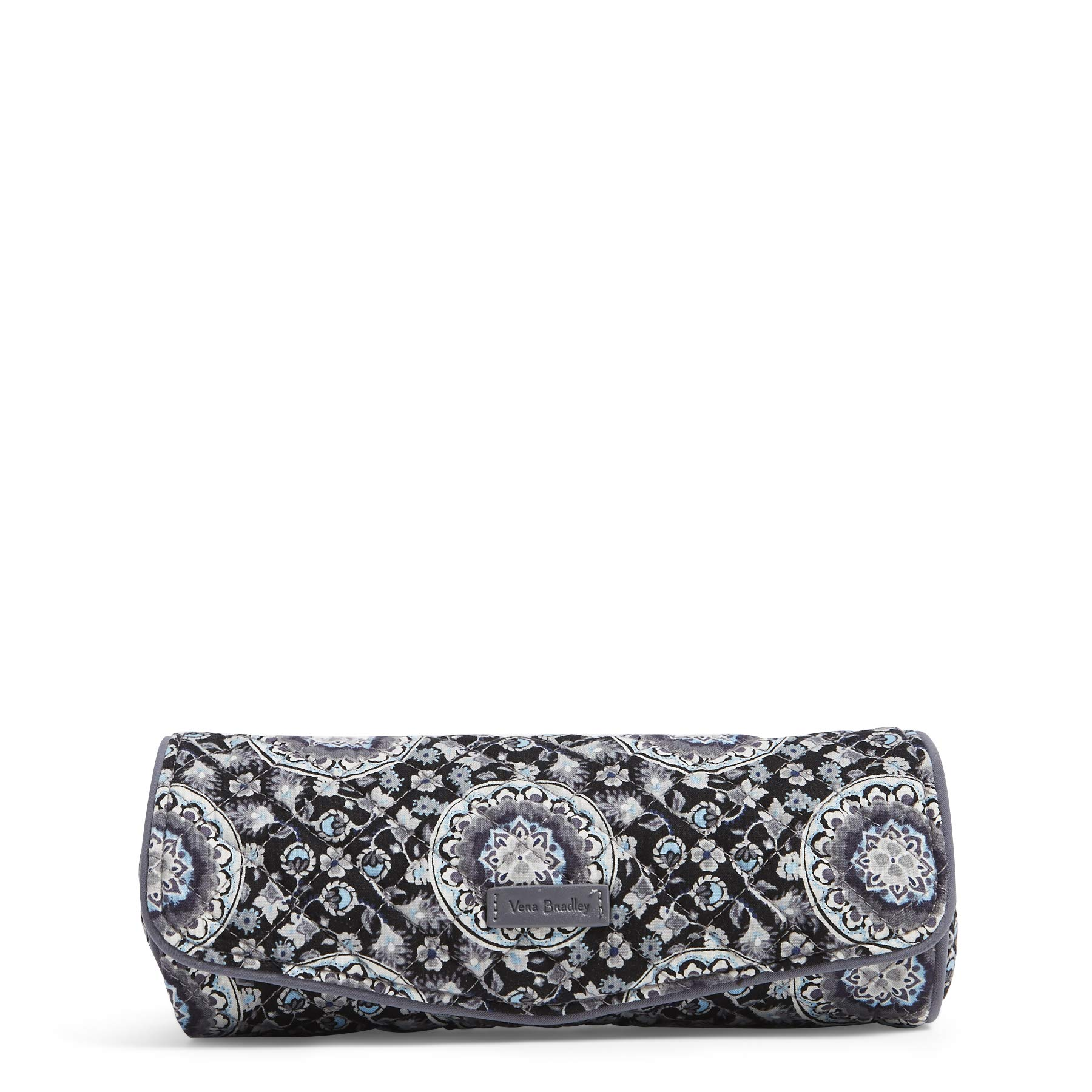 Vera Bradley Iconic On a Roll Case, Signature Cotton, Charcoal Medallion
